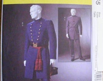 41% OFF Men's Civil War Uniform Costume Size xl xxl xxxl Uncut McCall's Sewing Pattern 4745