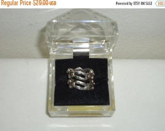 50% OFF Must See Vintage Sterling Silver Ring, Sz.5