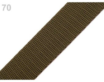 70 - Strap 30 mm polypropylene khaki Green