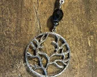 Tree of Life Necklace, Pendant Necklace, Silver Necklace