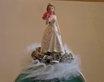 BRIDE HEADBAND, gag gift for bride, fun bridal shower, bachelorette wear, bach gag gift, wedding joke, funny bride, shower hairgband, bride