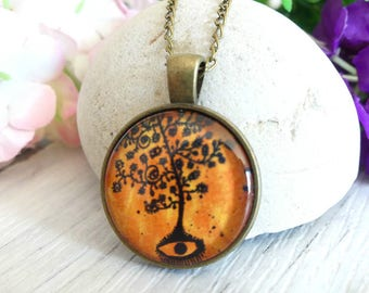 Tree of Life Necklace, Evil Eye, Celtic Necklace, Tree Of Life Pendant, Tree of Life Jewelry, Tree Necklace, Pendant Necklace, Best Gifts