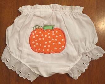 Pumpkin Diaper Cover