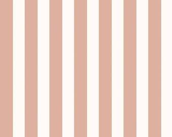 Yes Please Stripes Cream, My Mind's Eye for Riley Blake Designs