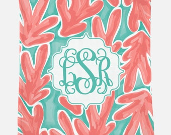 Monogrammed Blanket for Teen | Personalized Gift | Monogrammed Blanket | Gift for Teen