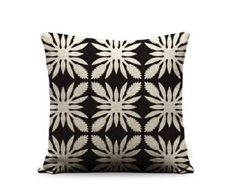 18x18in Torch Ginger Quilt Linen Pillow