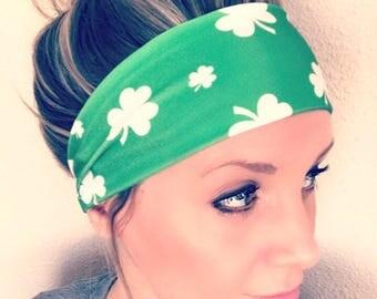 Irish Eyes Spandex Headband