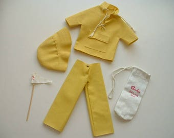 1960s Sindy doll sailing outfit