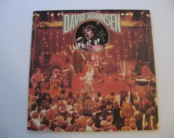 David Johansen - Live it Up - Circa 1982
