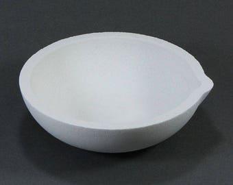 Ceramic Melting Dish / Crucible 100dwt Capacity (22.782)