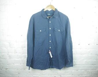 90s Polo Long sleeve button down shirt