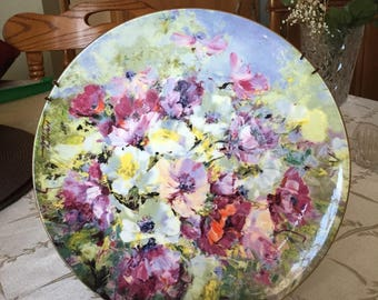 Hahn Vidal Collector Plate Spring Harmony by Royal Doulton