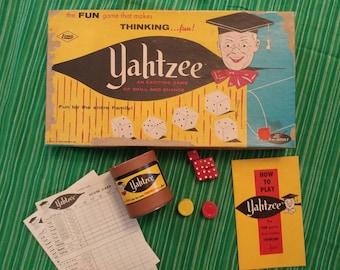 1956 Yahtzee Game.