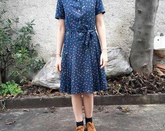 Vintage Dress Years ' 70