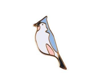 Bird Hard Enamel Cloisonné Lapel Pin