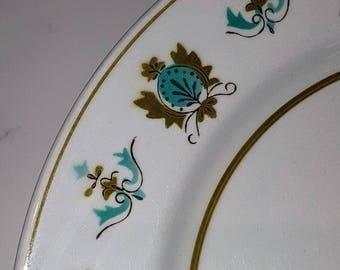 Mikasa, Rowena, Mediterrania, Salad Plates, vintage dinnerware, china replacement