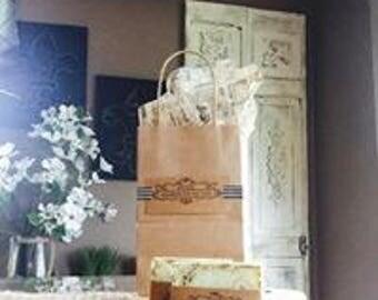 Coconut lime soap, Handmade soap, all Natural soap, vegan, rustic