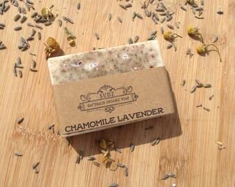 Chamomile Lavender Soap, Handmade soap, all natural soap, rustic