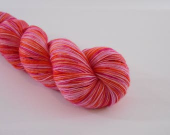 LOVE SOCK, Bollywood, laine chaussette teinte main, 100 g