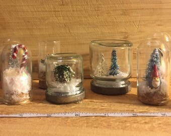 Mini Forest Waterless Snow Globe