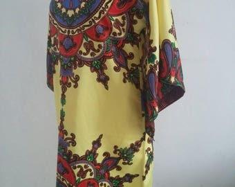 vintage kaftan dress
