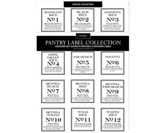VINTAGE STAPLES Label Collection
