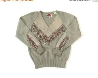 BLOW OUT SALE Vintage Western Sweater