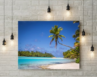 One Foot Island Palm Tree