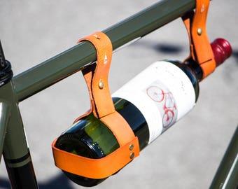 Wine holder for bike