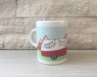 Happy Camper Espresso Mug