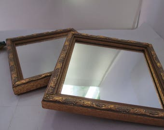 Wood Mirror Etsy