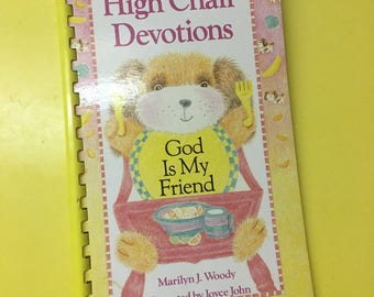 High Chair Devotions Book