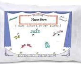 Dance Pillowcase, Ballet Pillowcase- Travel Size