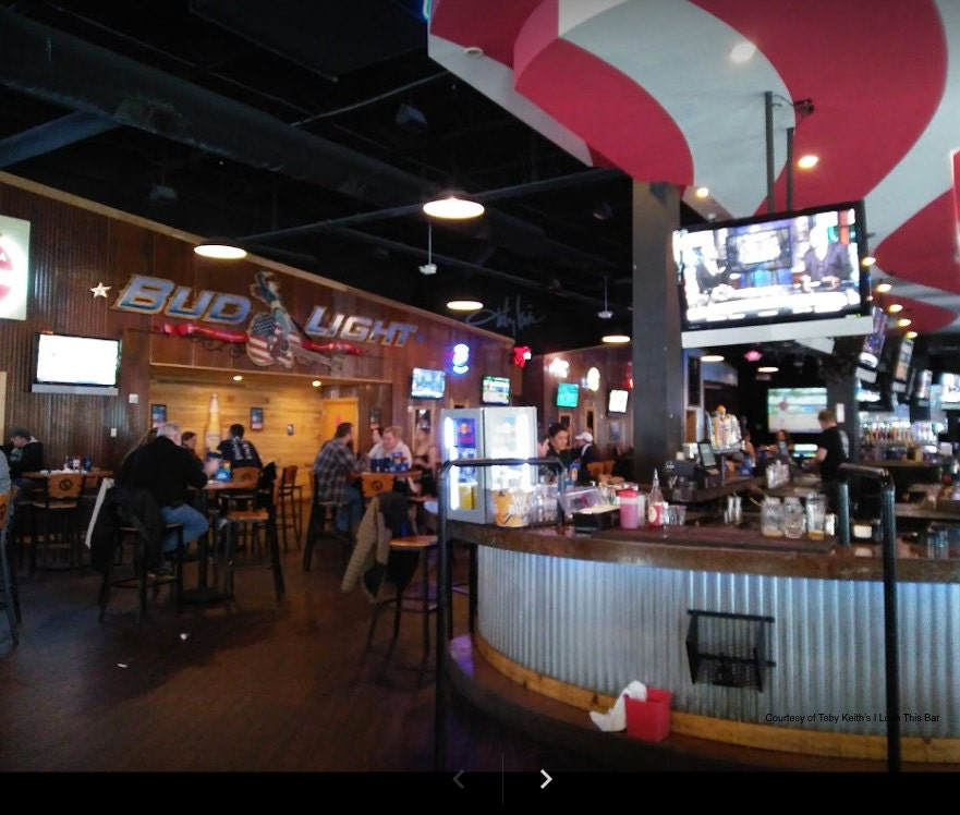 Toby Keith bar, Patriot Place, eatery