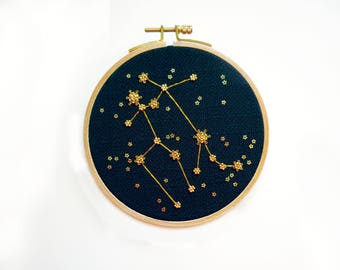 "Embroidery ""Gemini"""