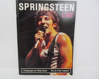 Bruce Springsteen Live Book