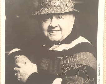 Authentic Genuine ~ MICKEY ROONEY Hand Signed Autograph B&W 8X10