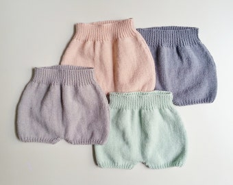 Organic biological cotton bloomer for born babies in 24 months / organic baby cloth / seasons organic life jacket