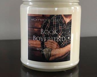 Book Boyfriend Soy Candle