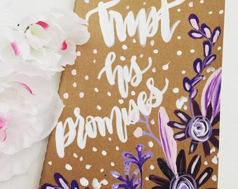 Trust His Promises - Brown Journal
