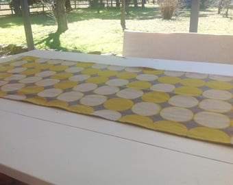 Linen Table Runner, Modern Table Runner