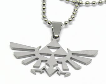 "Zelda Stainless Steel Necklace 23"" Ball Chain"