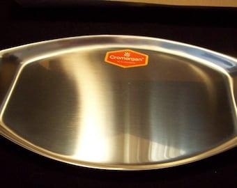 WMF Cromargan serving tray platter 18/10 Stainless Steel NEW VINTAGE  17 x 11+/-
