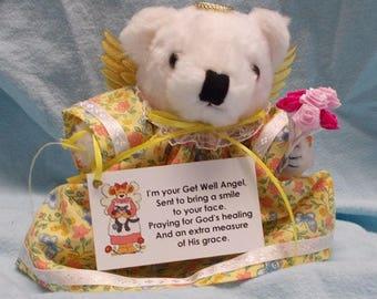 Get Well Gift/Get Well Soon Gift/Get Well Soon/Get Well Gift Surgery/Get Well Gift Hospital/Get Well Gift Woman/Get Well Gift Idea/Angel