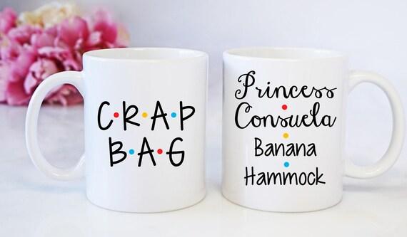 Princess Consuela Banana Hammock And Crap Bag Mug Mugs Set