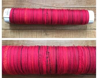 SAORI LE ready-made Red Cotton Warp