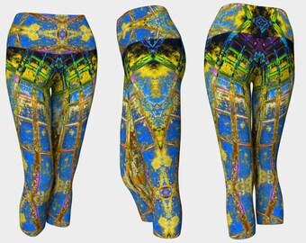 09396 Yoga Capri: Under the Bridge Photography. Yoga Leggings, Yoga Pants, Yoga Tights, Running Tights, Leggings