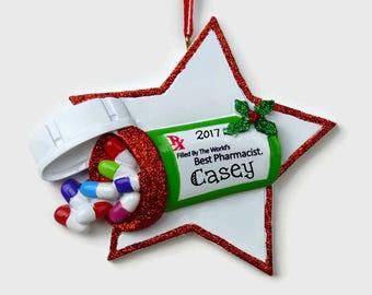Pharmacist christmas | Etsy