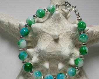 Handmade Ocean Blue Earrings