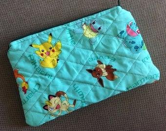 Pokemon Zipper Pouch
